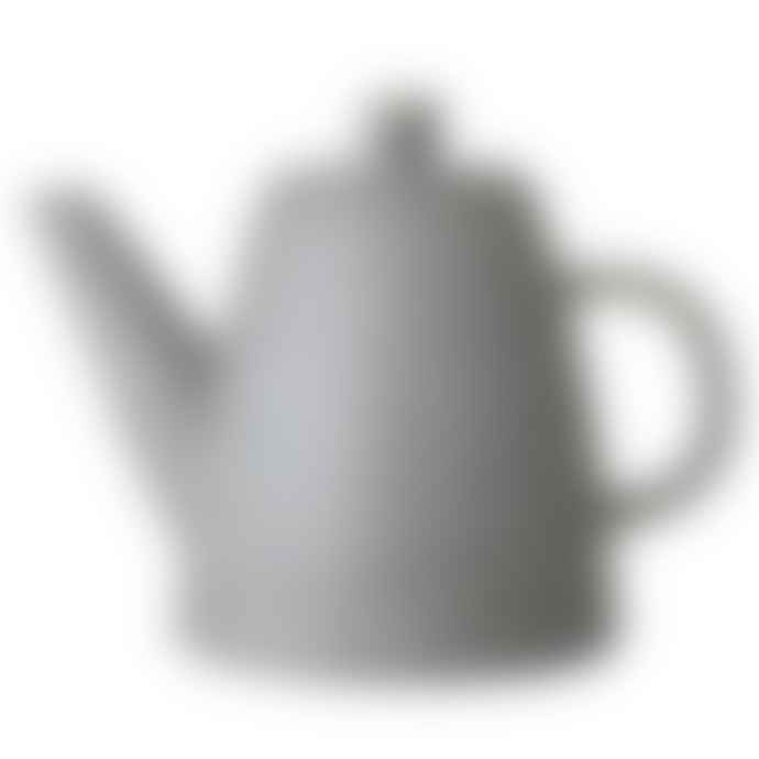 Bloomingville Grey Speckled Stoneware Ceramic Teapot
