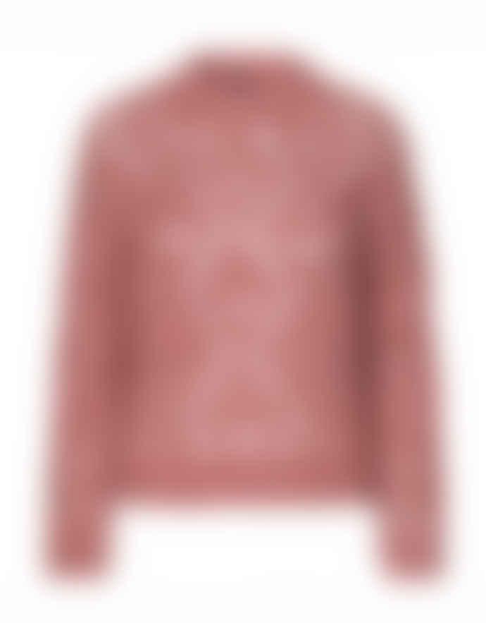Stine Goya Pink Alex Open Lace Jumper