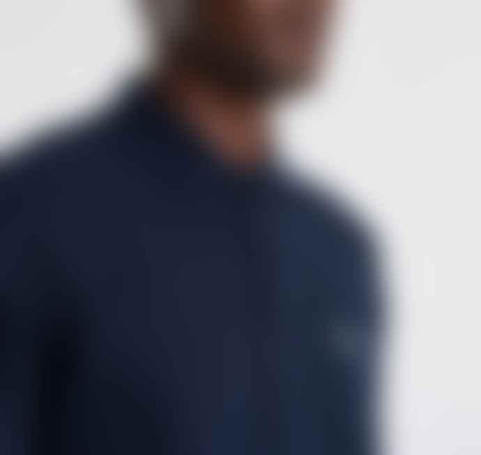Barbour Beacon LS Polo Shirt - Navy