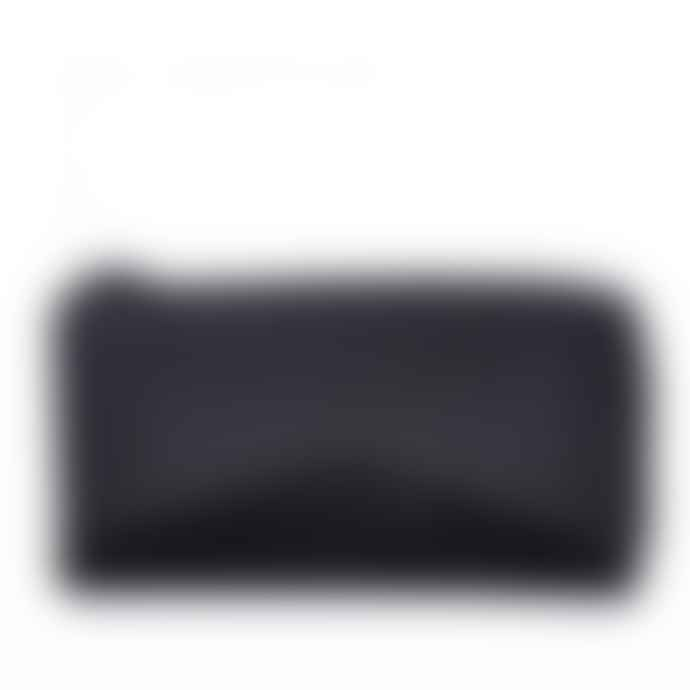 Nat & Nin Black Leather Linn Wallet