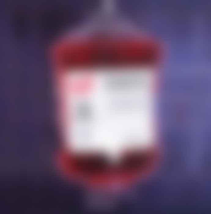 Gift Republic Donor Blood Bag Shower Gel