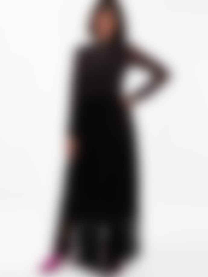 EMM COPENHAGEN Black Frill Tulle Skirt