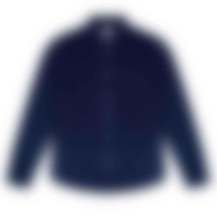 Bellfield Mood Blue Caesar Cord Shirt