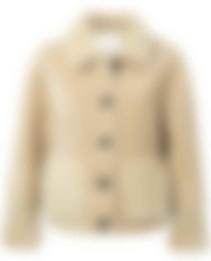 Yaya Sand Short Furry Jacket