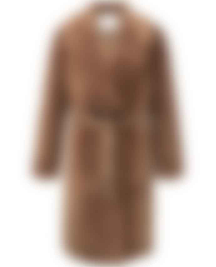 Yaya Chocolate Furry Coat