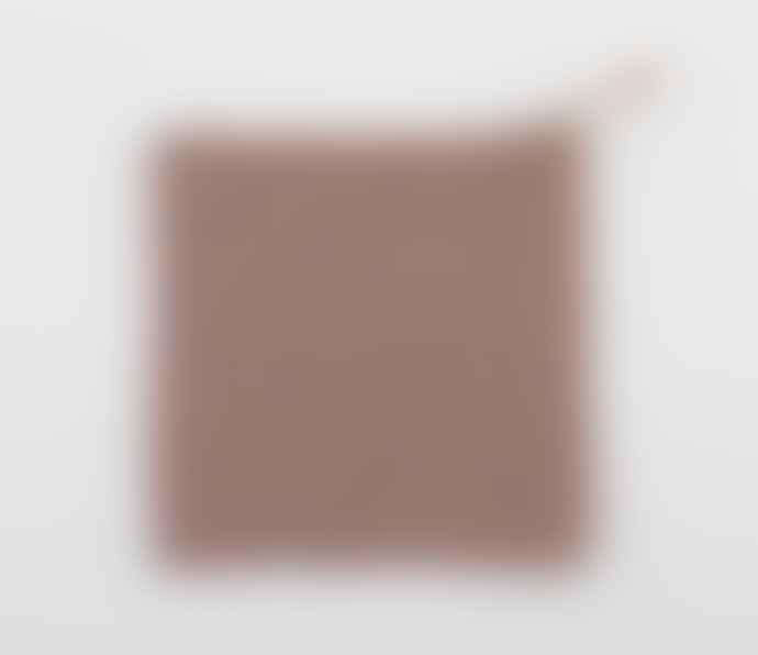 Gunilla Hellzen Trivet Dusty Pink, Hand Crocheted