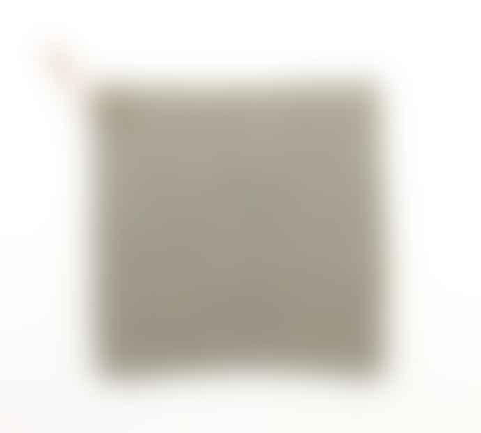 Gunilla Hellzen Kettle Holder Light Grey, Hand Crocheted