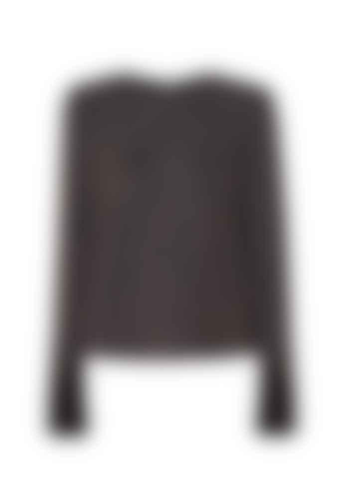 Paisie Copper Ochre Glitter Sweater