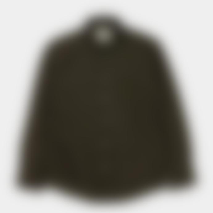Arnold & Co Native North Wool Herringbone Shirt Moss
