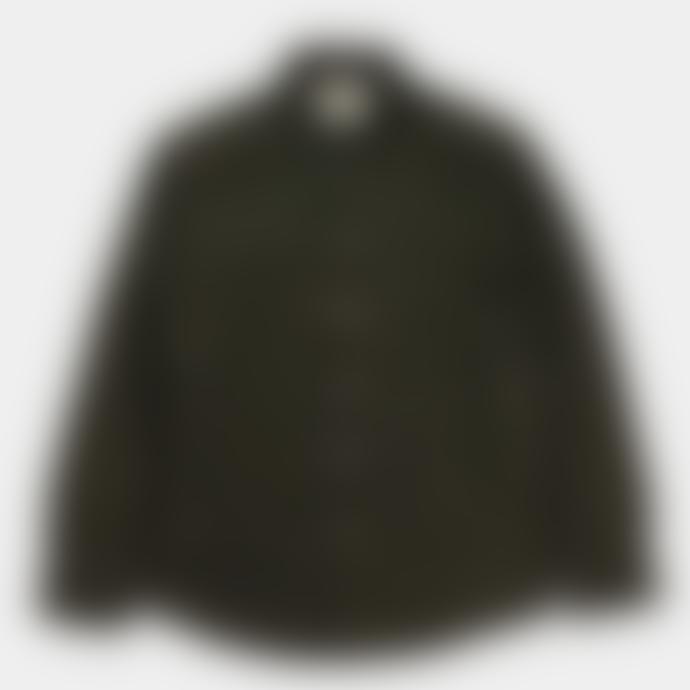 Arnold & Co Native North Wool Herringbone Shirt Green