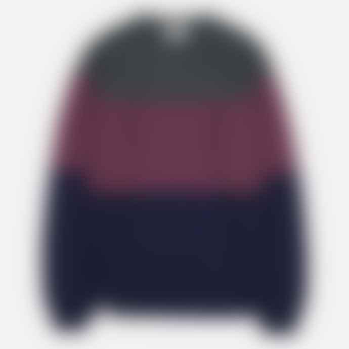 Makia Clothing Makia Block Knit Wine
