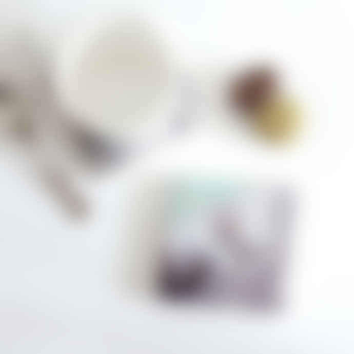 sky siouki American Kestral - Stone Tile Coaster