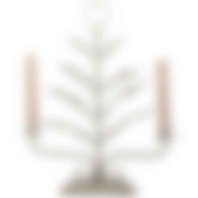 Grand Illusions Candelabra Spring Leaves