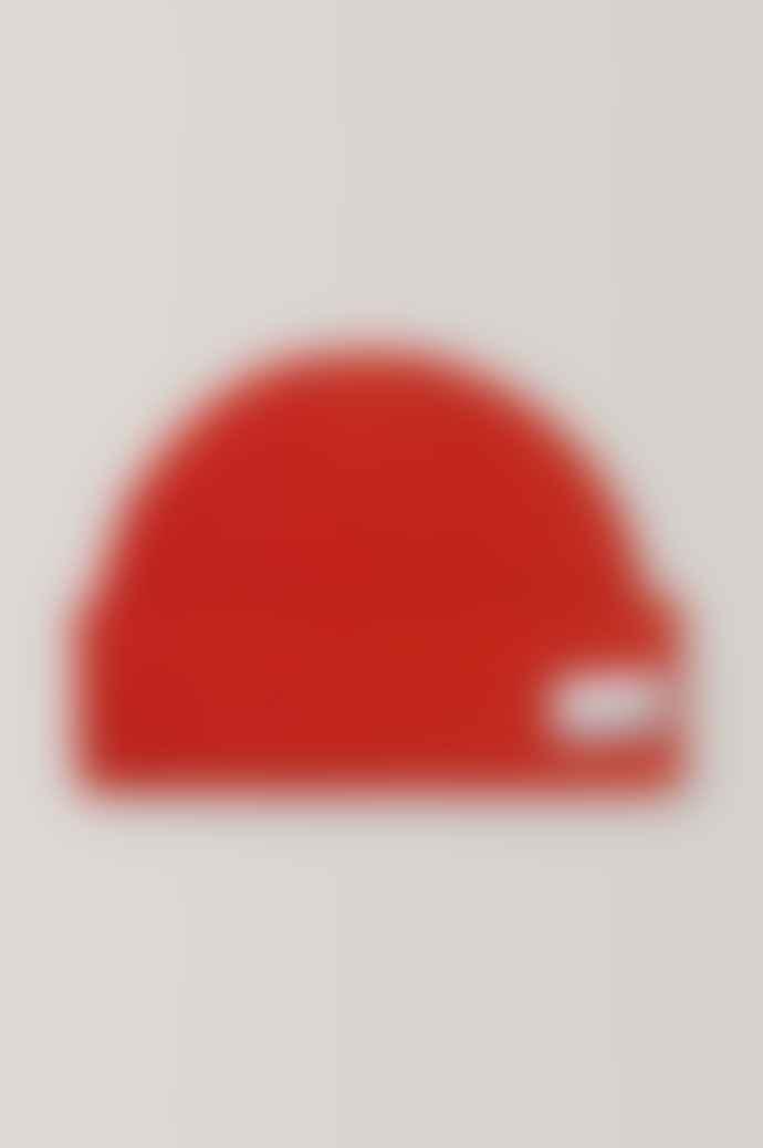 Ganni Hat In Fiery Red
