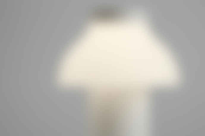 HAY Creme ABS Plastic Pierre Charpin's Freestanding Portable Lamp