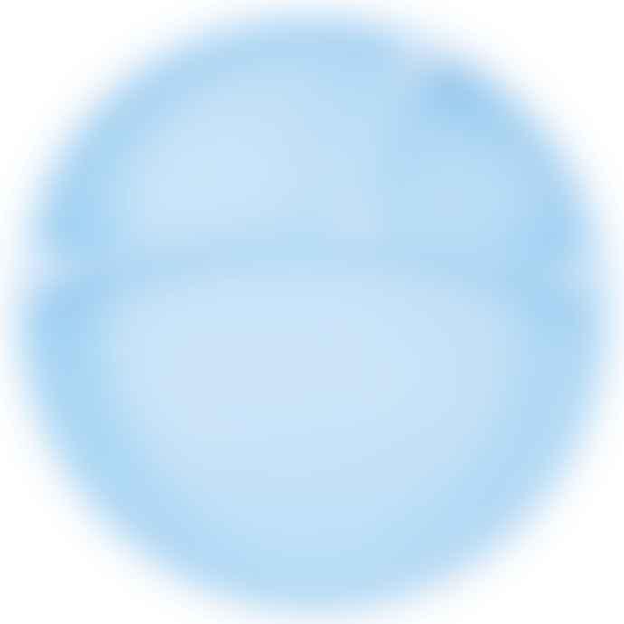 Minikoioi Blue Silicone Plate