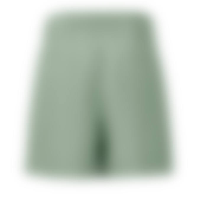 Yaya Paperbag Linen Waist Shorts - Light Sage