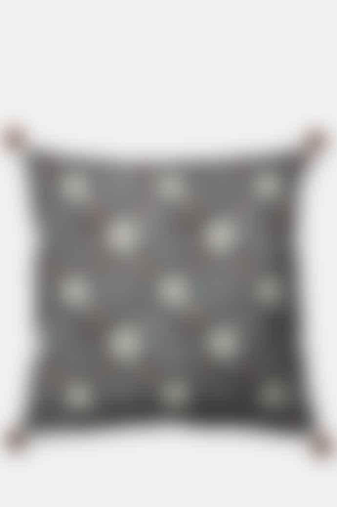 Bungalow Leela China Blue Cushion 60 X 60