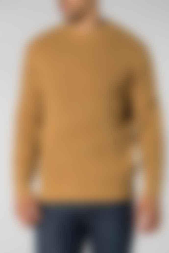 Castart Ocher Yellow Knitwear Jumper with Speckles