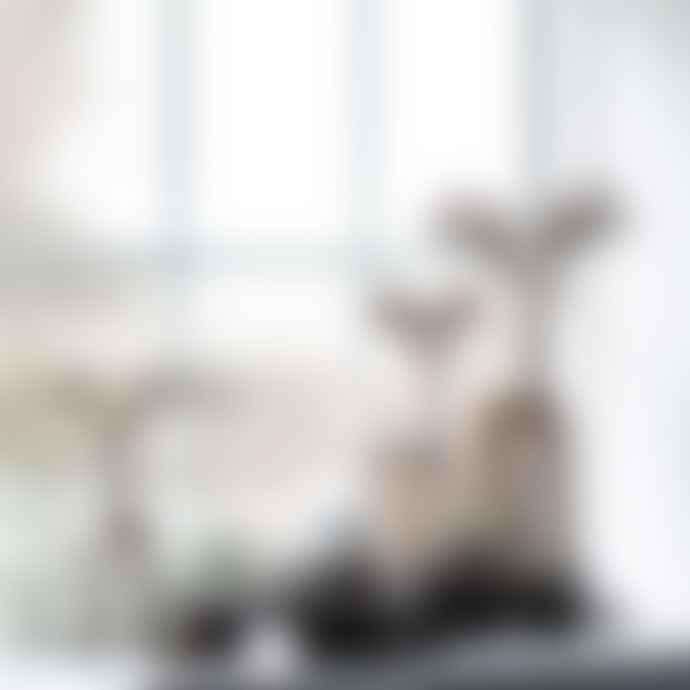 Ib Laursen Wooden Standing Reindeer Large