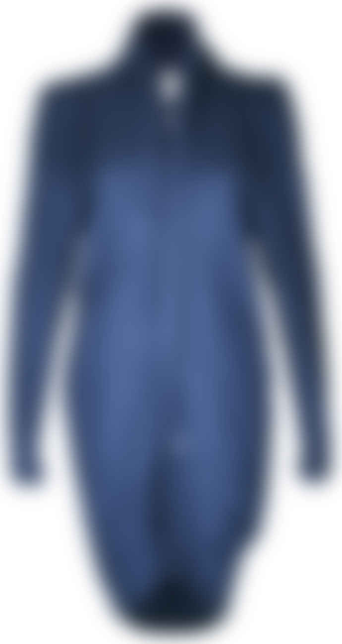 Format DROP Darkblue Sweat Cardigan