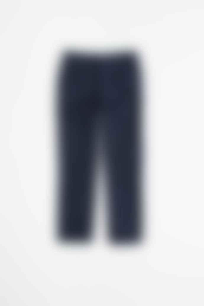 A KIND OF GUISE Odon Wide Jeans Wool Dark Navy