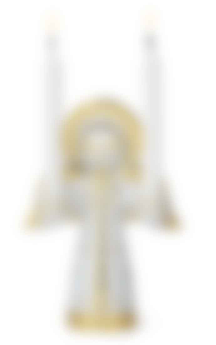 Rosendahl Copenhagen Bjørn Wiinblad Saint Lucy Advent Candleholder Gold 15cm