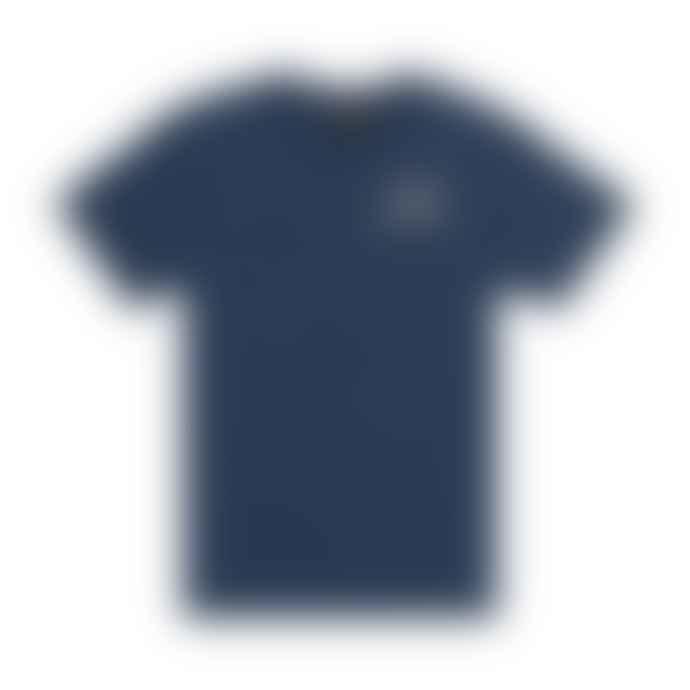 Deus Ex Machina Venice Pocket Tee Shirt Mid Blue