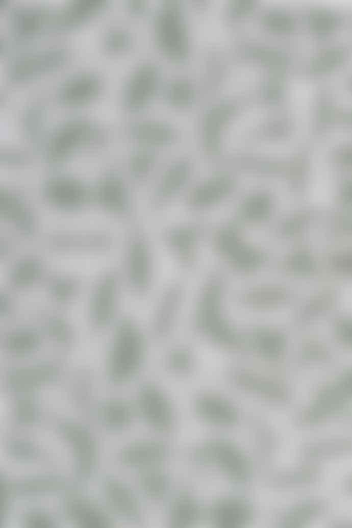 Textielmuseum Studio Job Green Cotton Insects Tea Towel