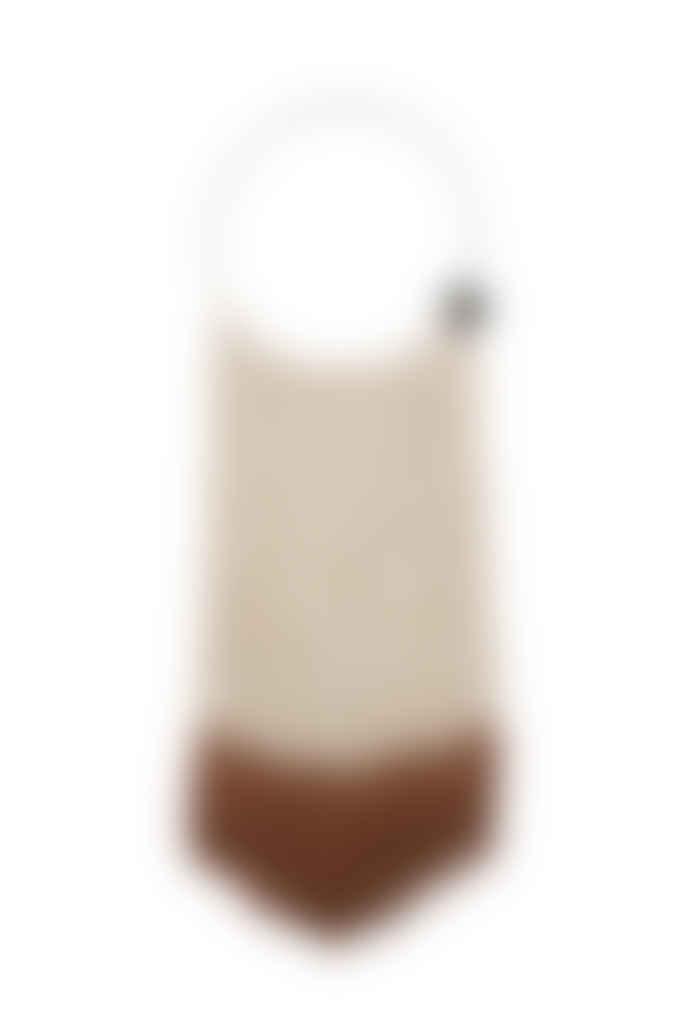 Zusss Sand Brique Cotton and Metal Macrame Wall Hanger