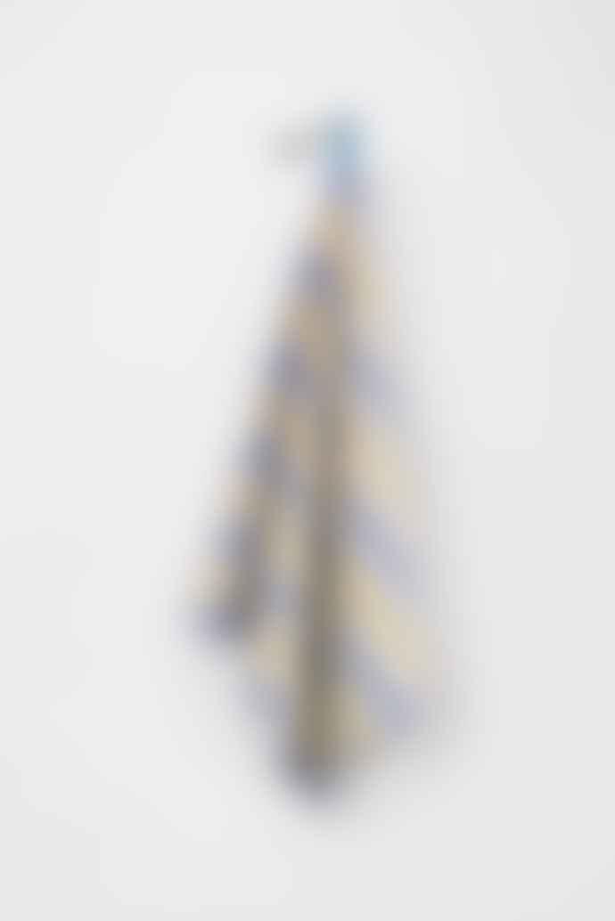 Textielmuseum Blue Yellow Cotton Bauhaus Tea Towel
