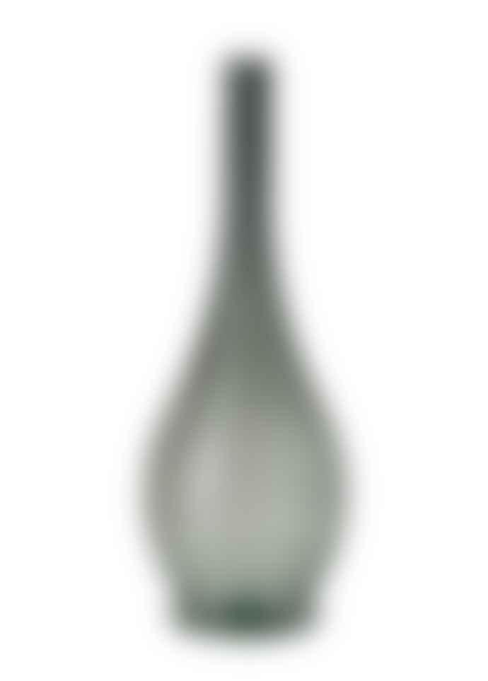 Persora Dark Green Stem Glass Vase