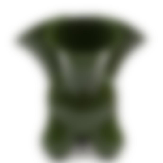 Cor Unum Green Earthenware Doodle Vase