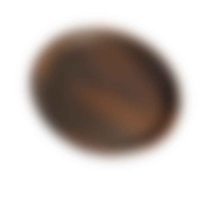 Muubs Brown Terracotta Hazel Deep Pan Plate