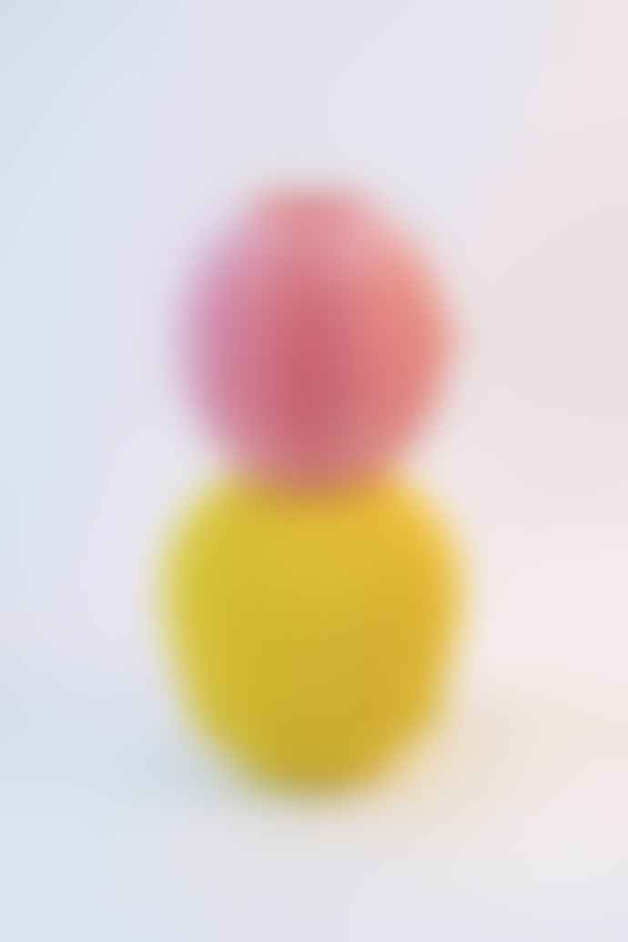 UAU project Pink and Yellow PLA Thermoplastic Sensual Vase