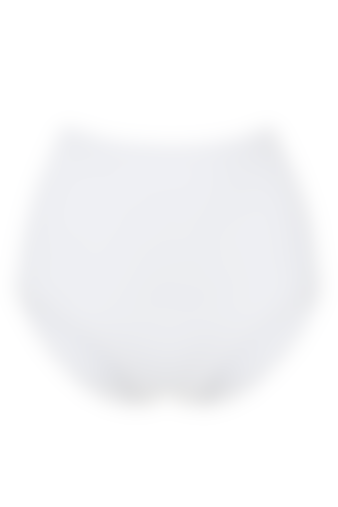 People Tree 95% Organic Cotton High Waist Briefs in White