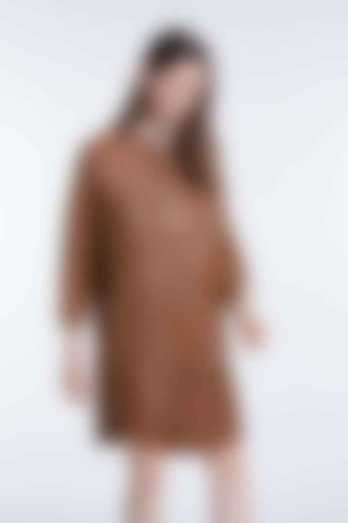 Set Fashion Leather Tunic Dress