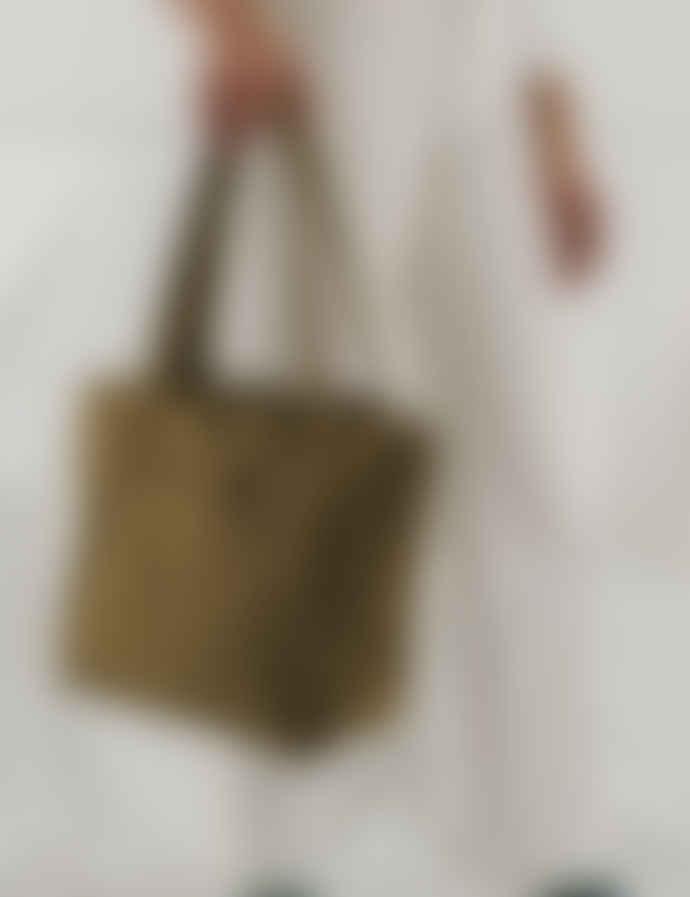 Baggu Kelp Heavyweight Nylon Shoulder Mini Cloud Bag