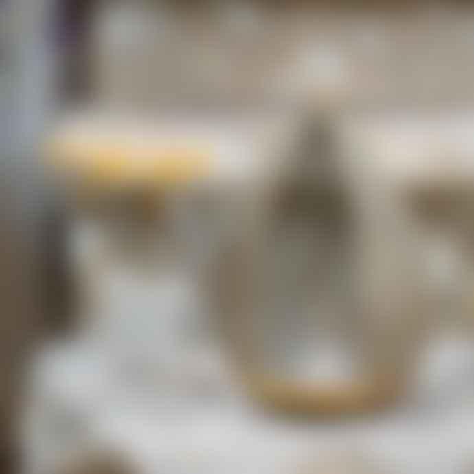 Grand Illusions Coco-de-Mer Brass Hanging Lantern