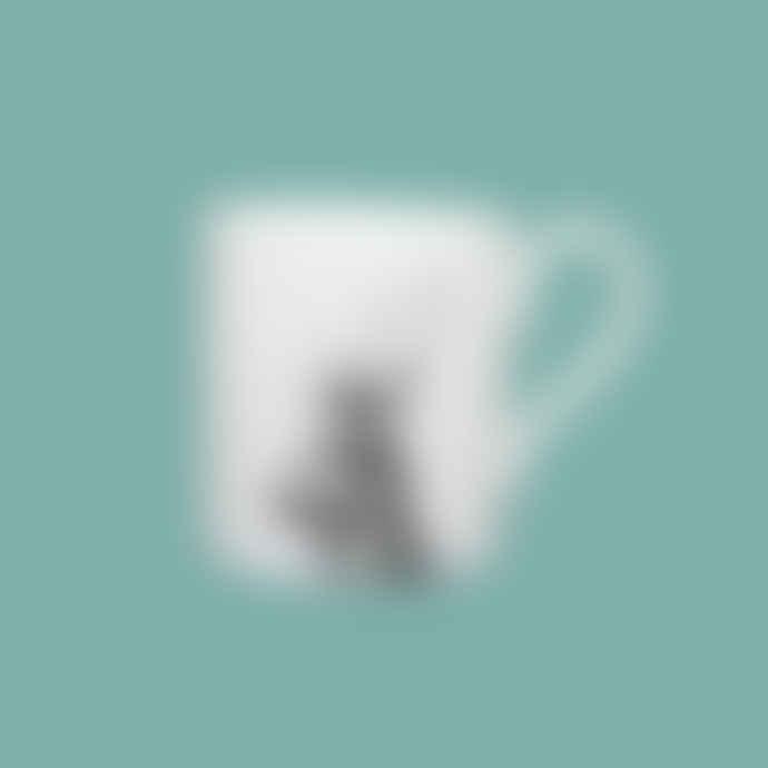 Little Weaver Arts Imperial Stag Fine Bone China Mug