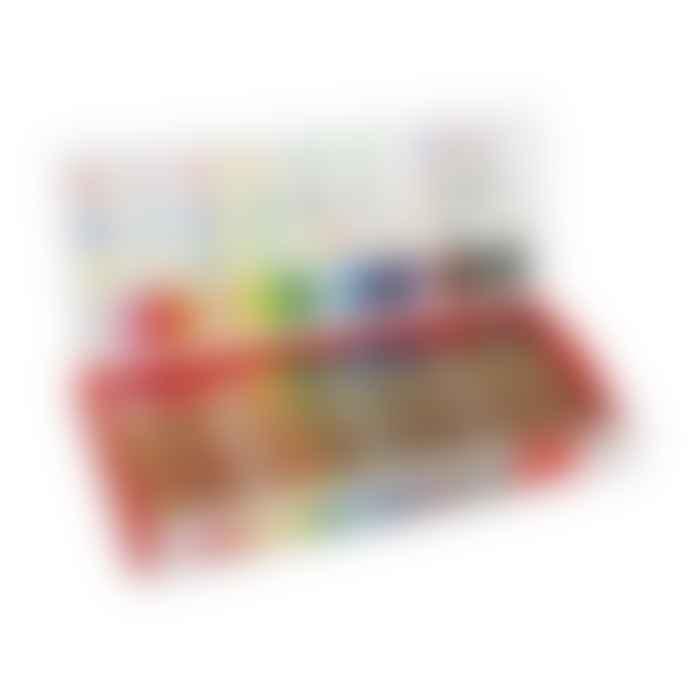 KITPAS Large Any Surface Crayon 16 pcs Set
