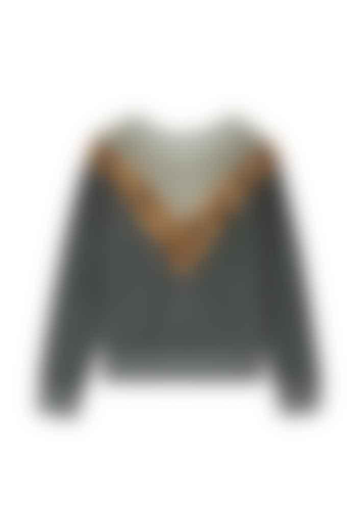 Leon & Harper Sandia Sweater In Green