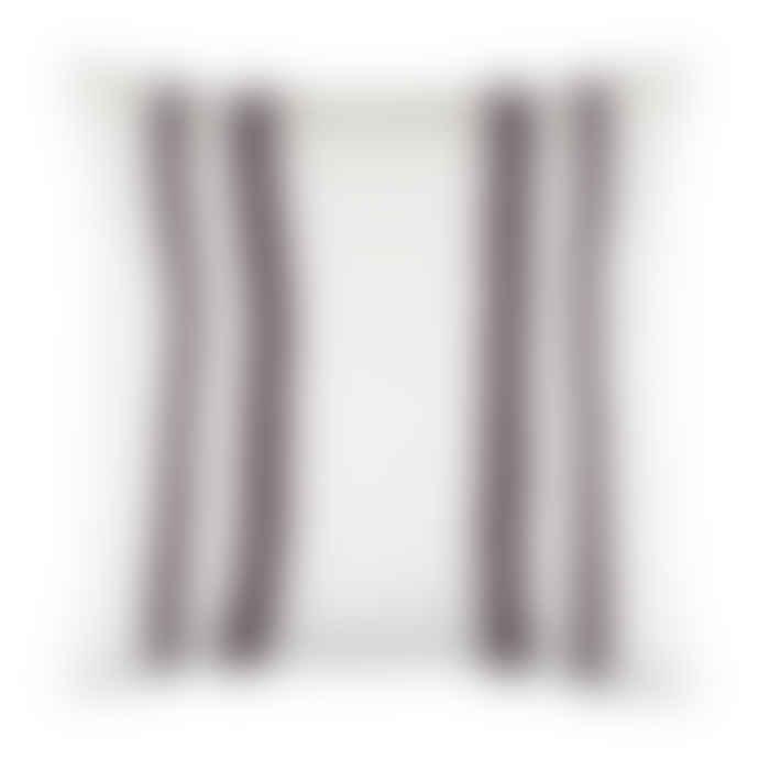 Olsson & Jensen Marseille Linen Aubergine Vertical Stripe Cushion Cover