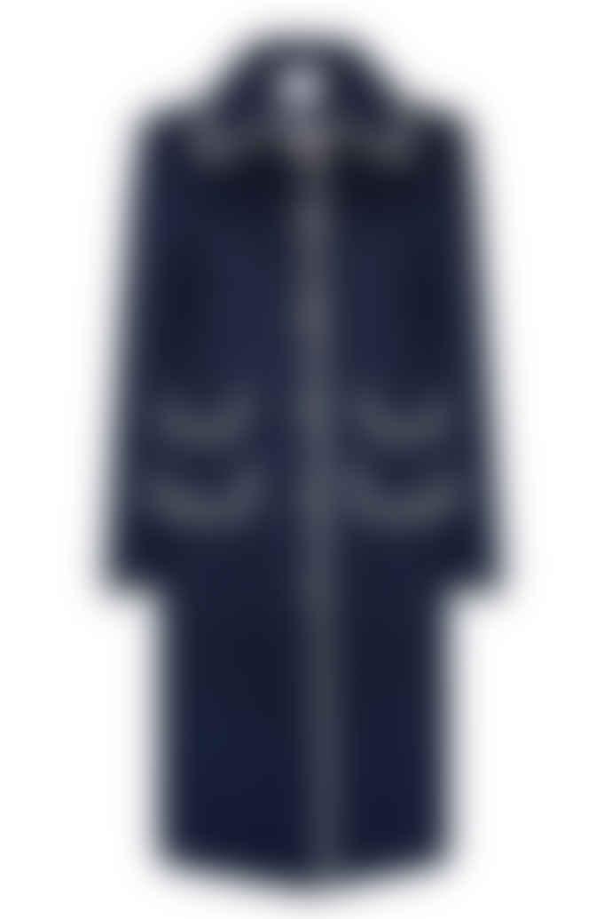 Jovonna London Navy Mississipi Long Coat