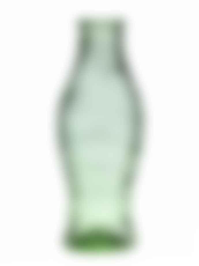 Serax Paola Navone Fish Bottle 1 Liter Green Transparent Glass