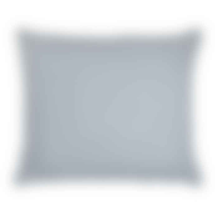 Olsson & Jensen Blue-Grey Linen Cushion Cover with Frayed Edges 50cm x 60cm