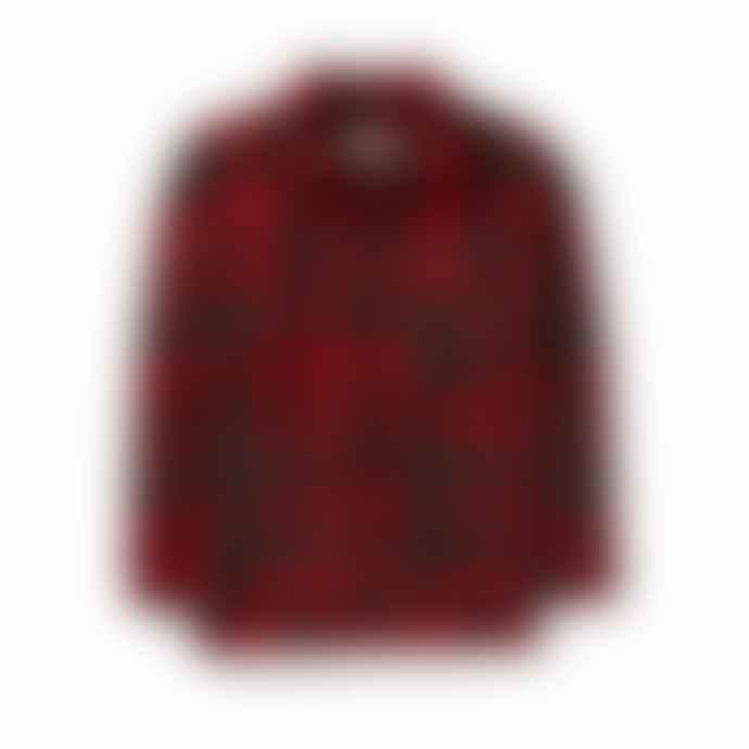 Filson Mackinaw Cruiser Black Red