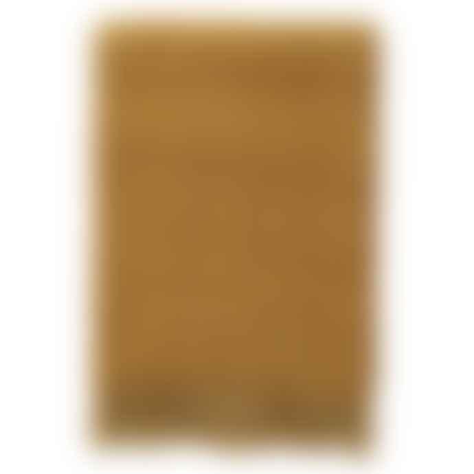 Klippan Yllefabrik Shimmer mustard throw