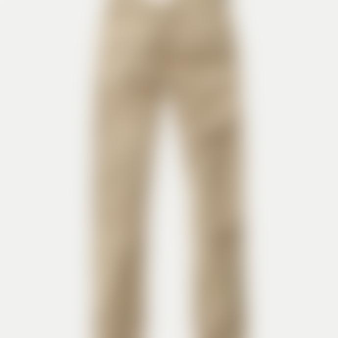 Nudie Jeans Beige Cotton Slim Adam Chinos