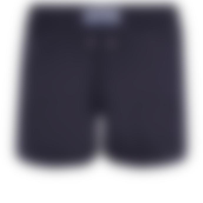 Vilebrequin Blue Night Polyester Man Swim Shorts
